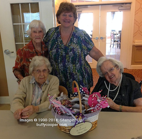 My Paper Pumpkin, Stampin' Up!, Spring Arbor Assisted Living Facility