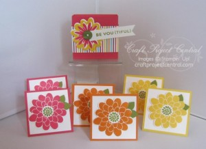 Stampin' Up!, Flower Patch, Craft Project Central