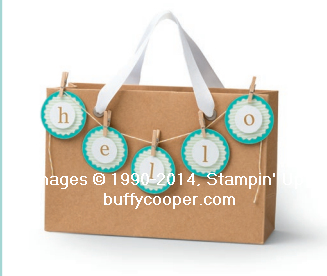 In the Bag, Paper Pumpkin, Stampin' Up!