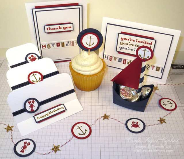 Sea Street, Stampin' Up!, Craft Project Central