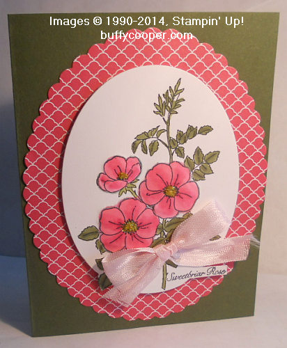 Sweetbriar Rose, Stampin' Up!