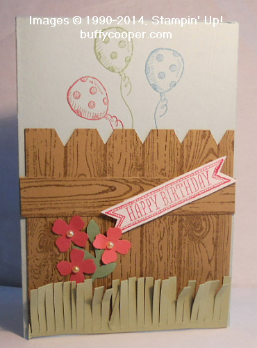 Hardwood, Sketched Birthday, Stampin' Up!