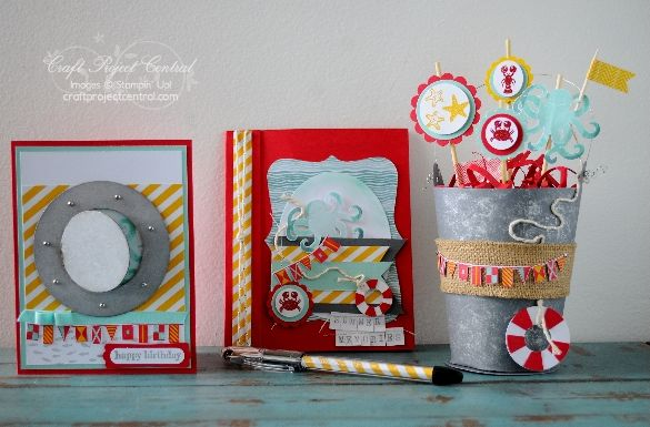 Stampin' Up!, Sea Street, Craft Project Central