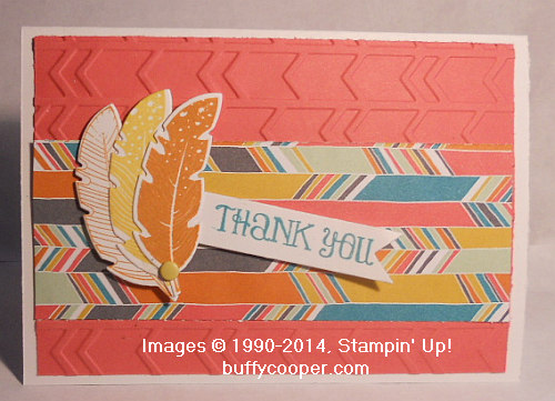 Stampin' Up!, Four Feathers