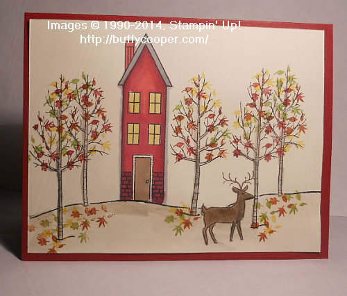 Holiday Home, White Christmas, Stampin' Up!