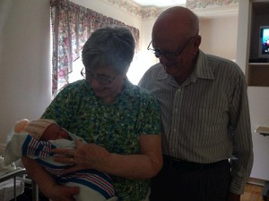 Great-grandparents and Amelia