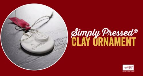 Simply Pressed Clay, Stampn' Up! Holiday Catalog