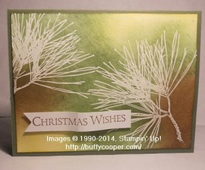 Stampin' Up!, Ornamental Pine