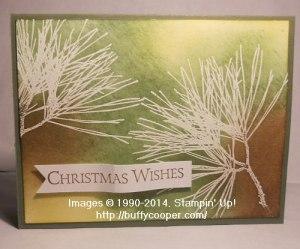 Stampin' Up!, Ornamental Pine