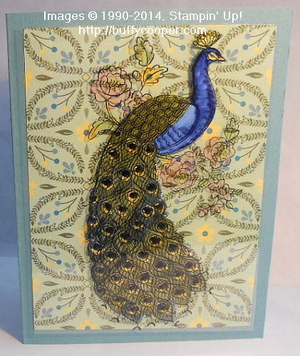 Perfect Peacock, Stampin' Up!