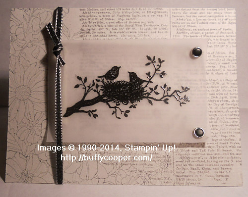 Serene Silhouettes, Corner Garden, Dictionary, Stampin' Up!