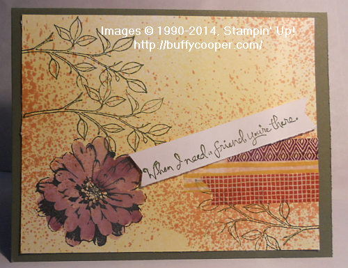 Choose Happiness, Stampin' Up!