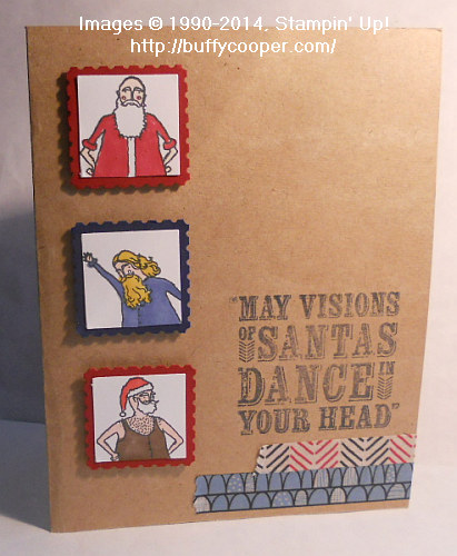 Visions of Santa, Santa & Co, Stampin' Up!