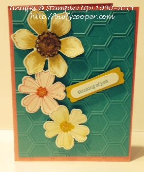 Stampin' Up!, Flower Shop, Beautiful Bunch