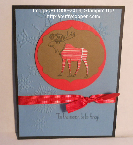 Visions of Santa, Stampin' Up!