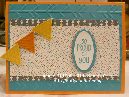 Geometrical, Sweet Stuff, Stampin' Up!