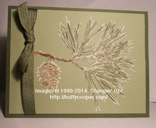 Ornamental Pine, Stampin' Up!