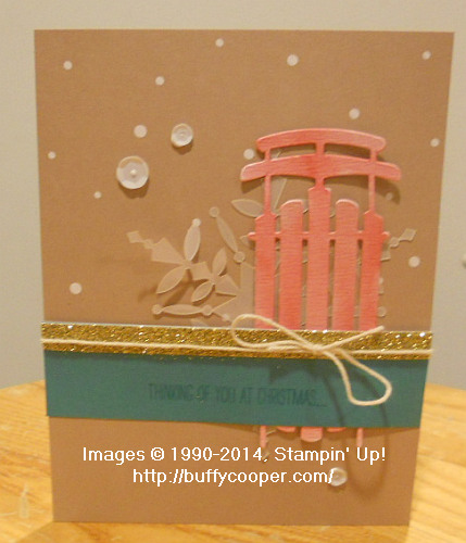 Watercolor Winter, Stampin' Up!