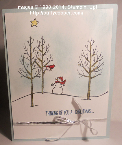 White Christmas, Stampin' Up!
