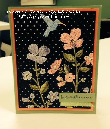 Stampin' Up!, Blendabilities, Wildflower Meadow