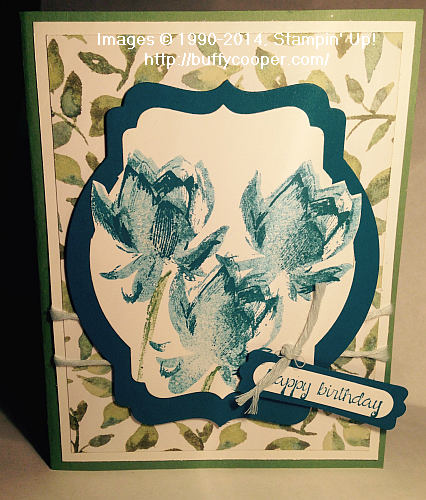 Lotus Blossom, Stampin' Up!, Sale-a-bration