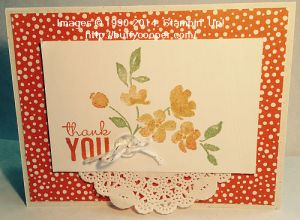 Painted Petals, Stampin' Up!