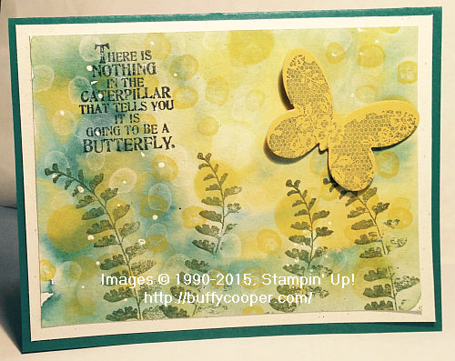 Butterfly Basics, Stampin' Up!, Bokeh