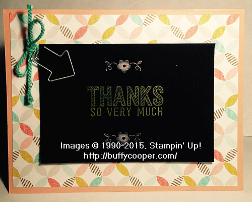 Simply Wonderful, Sale-a-bration, Stampin' Up!