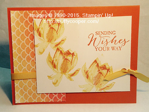 Stampin' Up! Lotus Blossom, Sale-a-bration