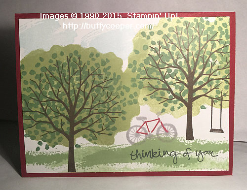 ShelteringTree, Stampin' Up!