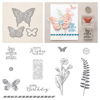 Butterflies Photopolymer Bundle, Stampin' Up!