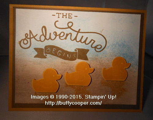 WCC25, Stampin' Up!, Adventure Awaits