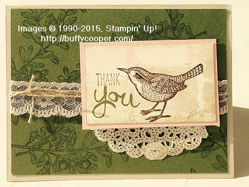 An Open Heart, Stampin' Up!