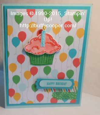 Sprinkles of Love, Stampin' Up!, Ronald McDonald House Charities