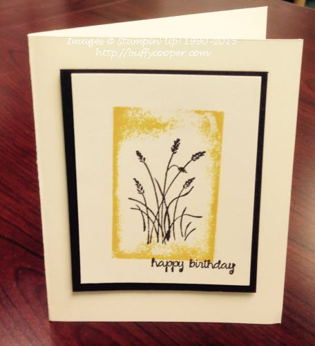 Wetlands, And Many More, Stampin' Up!