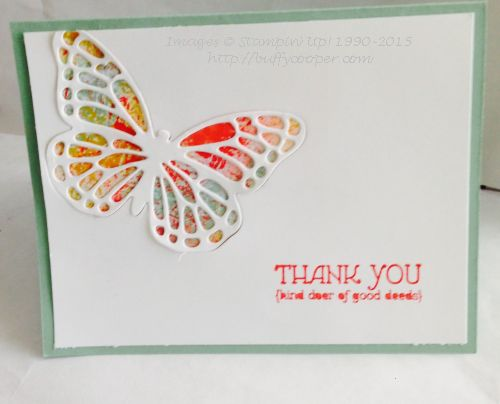 Stampin' Up!, Lots of Thanks