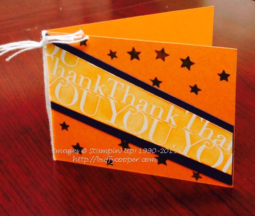 Stampin' Up!, Another Thank You