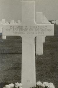 Delmer Linaburg, D-Day