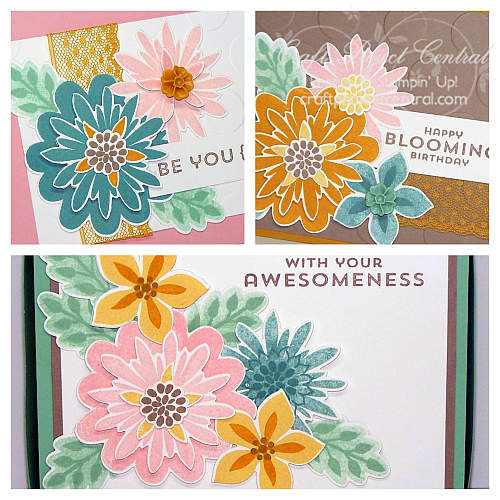 Stampin' Up!, Craft Project Central, Flower Patch