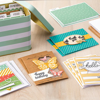 Tin of Cards, Stampin' Up!