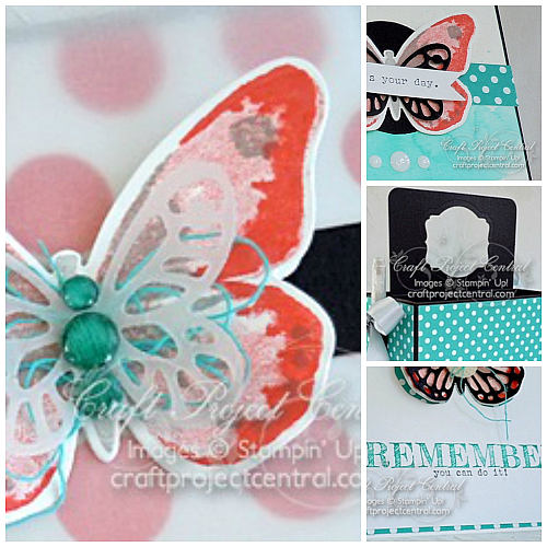 Watercolor Wings, Stampin' Up!, Craft Project Central
