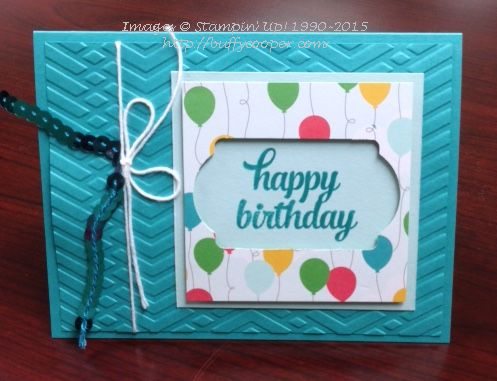 Cherry on Top, Stampin' Up!, Tin of Cards