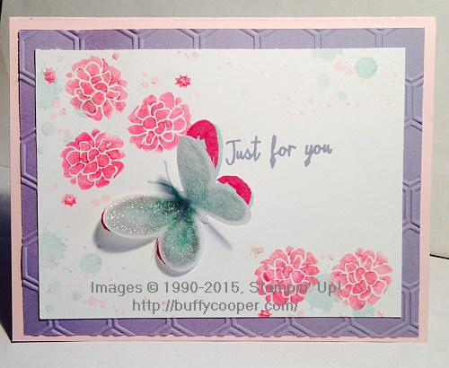 Perpetual Birthday Calendar, Watercolor Wings