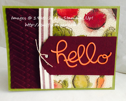 Stampin' Up, Farmer's Market