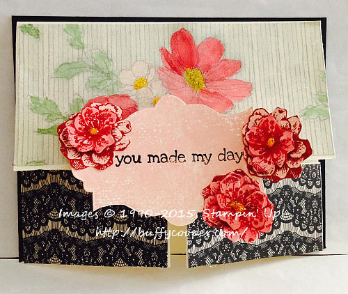 Fancy Fold, Everything Eleanor, Stampin' Up!