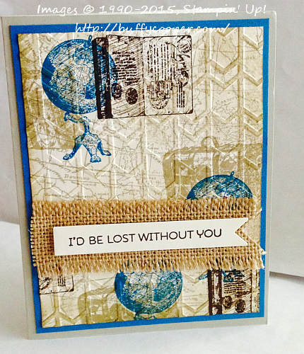 Cottage Greetings, Stampin' Up!, Traveler