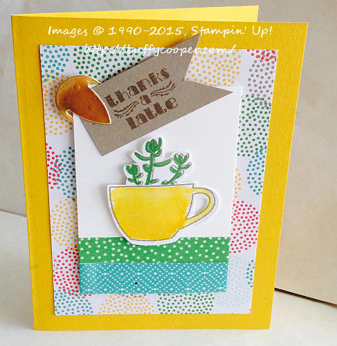 Paper Pumpkin, July, Stampin' Up!