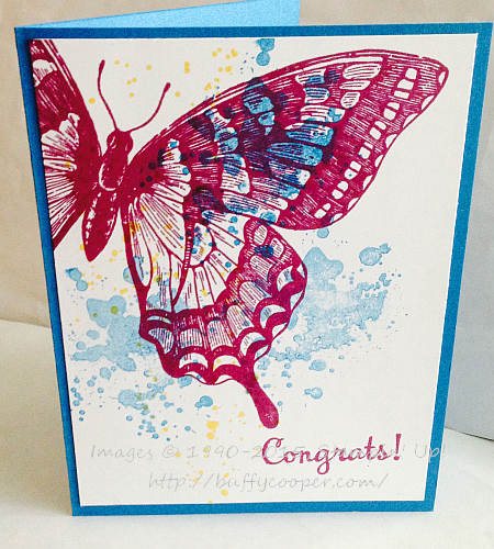 Swallowtail, Happy Happenings, Stampin' Up!