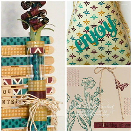Washi Tape, Craft Project Central, Stampin' Up!