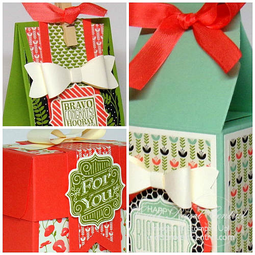 Gift Bag Punch Board Creations